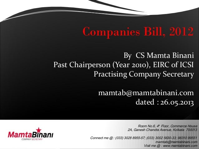 Room No.6, 4thFloor, Commerce House2A, Ganesh Chandra Avenue, Kolkata 700013Connect me @ : (033) 3028 8955-57; (033) 3002 ...