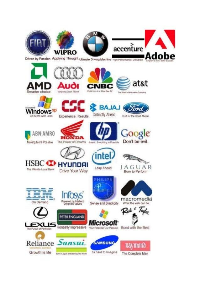 Popular Car Company Slogans