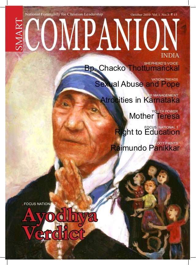 Smart Companion India | July 2010 1 Shepherd's Voice . Bp. Chacko Thottumarickal Vatican Trends . Sexual Abuse and Pope PR...