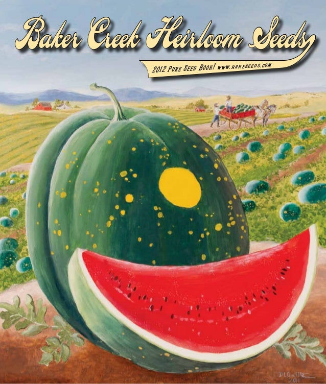 Barker Creek Heirloom Seeds and Rare Seeds
