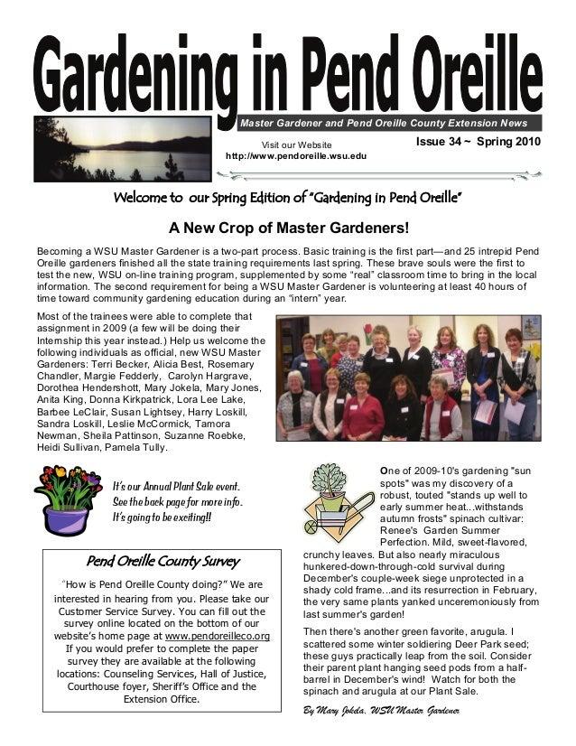 Companion Planting for Successful Gardening - Master Gardeners, Pend Oreille County, Washington