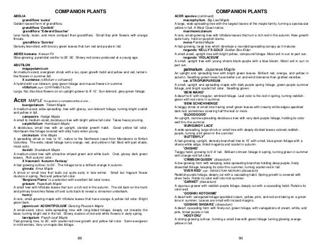 Companion Plants - Sonoma
