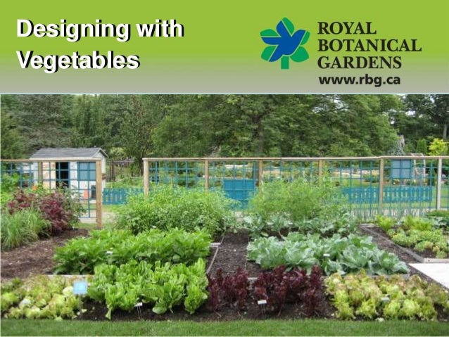 Designing with Vegetables - the Oakville Horticultural Society