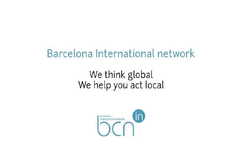 !WHAT WE DO!Barcelona International Network helps all members ofthe international community of Barcelona with theirsetting...