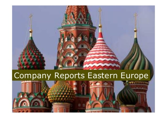 Company Credit Reports Eastern Europe