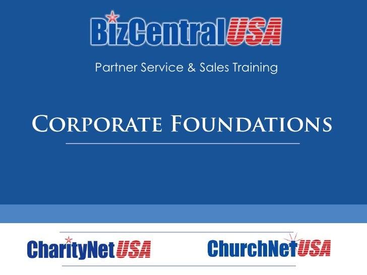 Partner Training: Company Foundations
