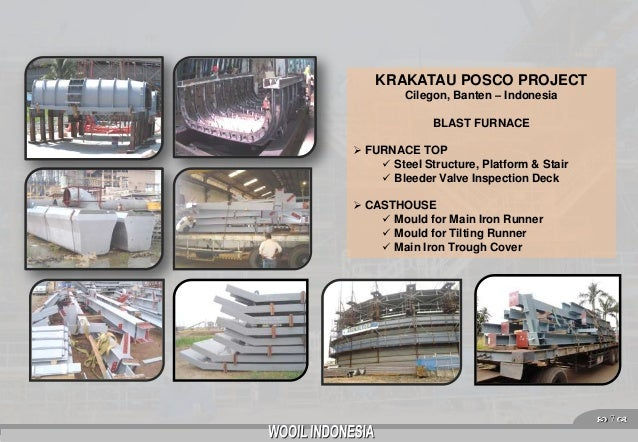 Krakatau Posco Cilegon Krakatau Posco Project Cilegon