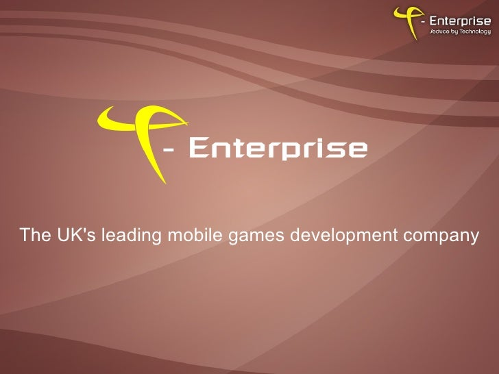 The UK's leading mobile games development company