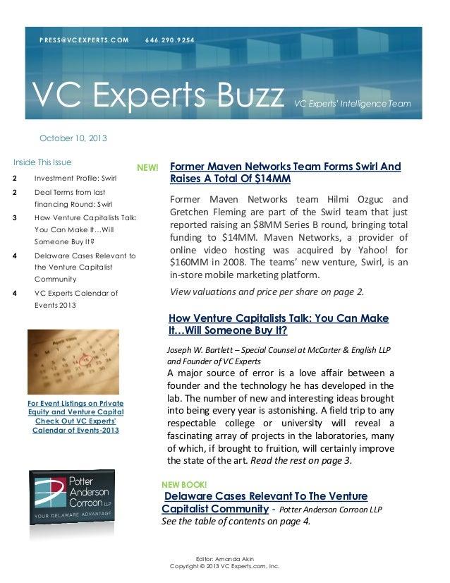 Editor: Amanda Akin Copyright © 2013 VC Experts.com, Inc. Former Maven Networks team Hilmi Ozguc and Gretchen Fleming are ...