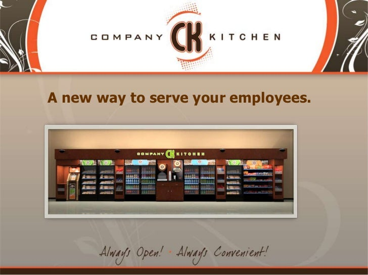 A new way to serve your employees.<br />