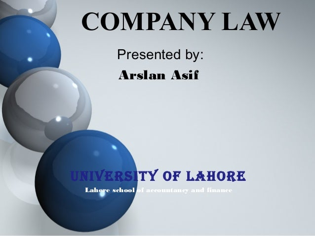 Company law essay