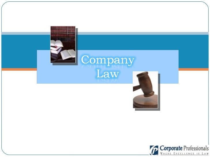 Company law 05.08.08