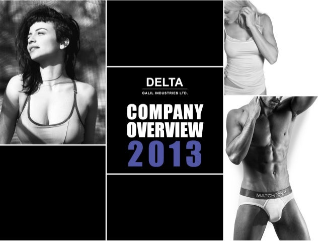 02  COMPANY OVERVIEW 2013  INTRODUCTION  Leading Global Company specializing in design & development of women's apparel, ...