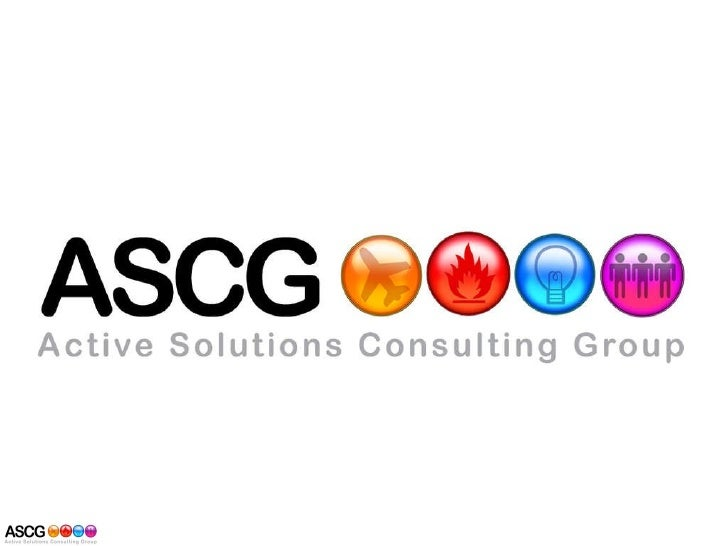 Company Presentation Ascg