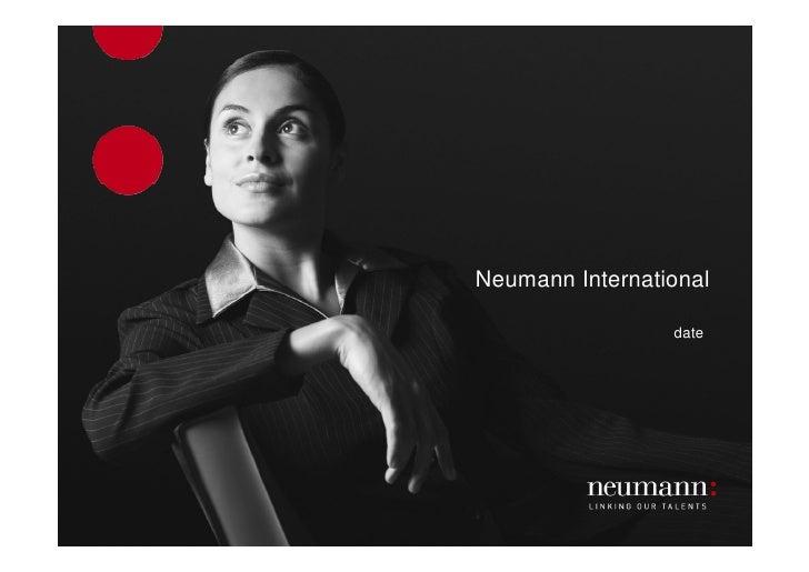 Neumann International                   date