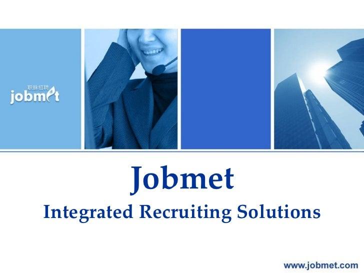 Company Presentation Of Jobmet En 2011 11