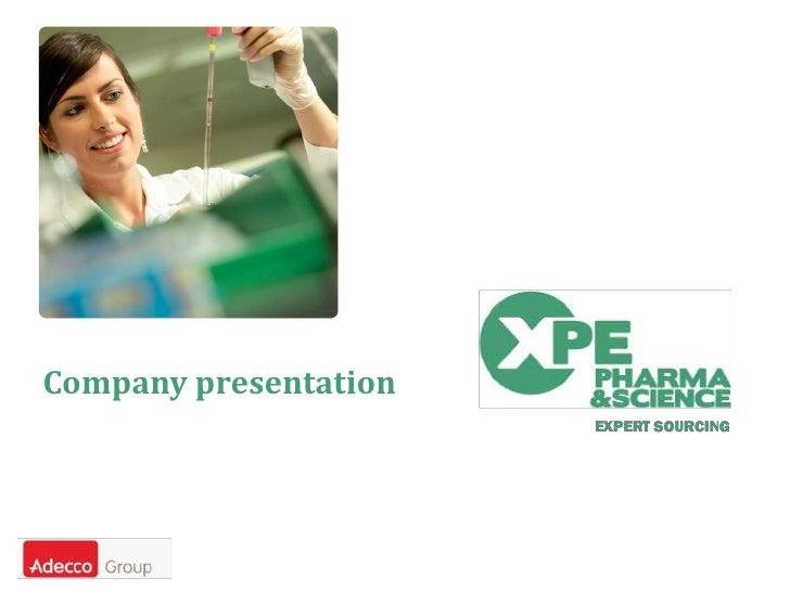 Company presentation<br />