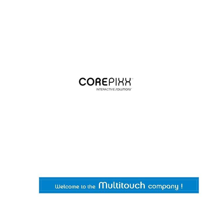 Corepixx™ è il punto di riferimento nel mercato italiano degli strumenti touch, ha la Tecnologia Interattiva el'Innovazion...