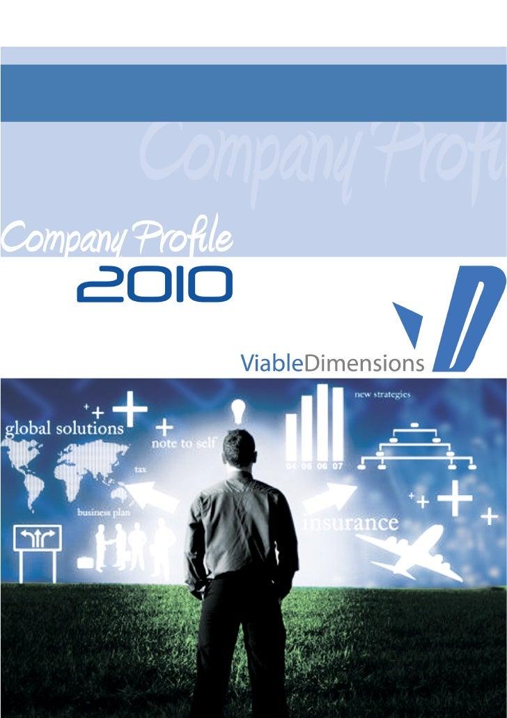 Viable Dimensions Company Profile