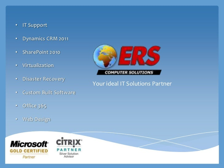 ERS Solutions Company profile