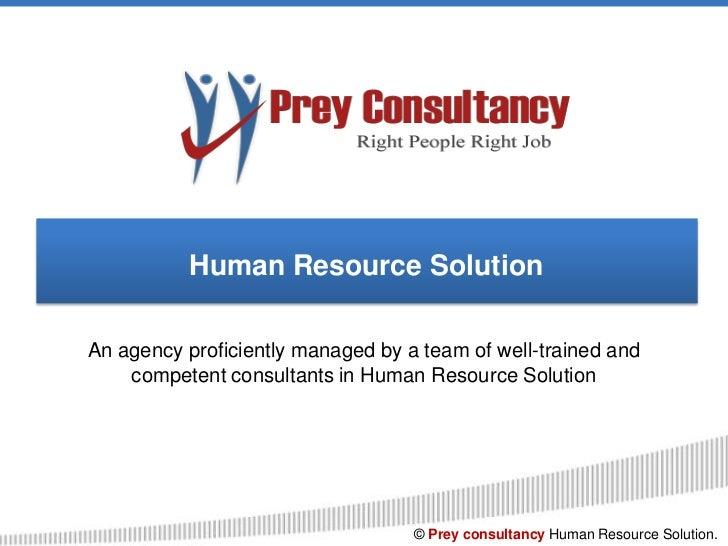 Prey Consultancy Corporate Presentation