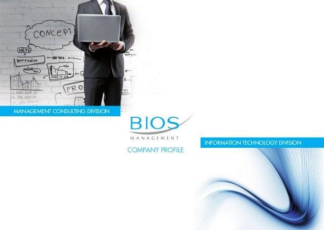 Bios Management - Corporate Profile
