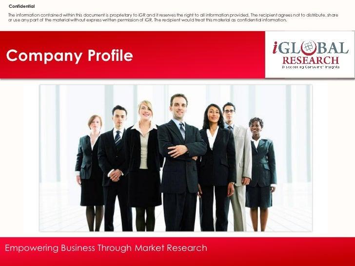 Company Profilei iGR