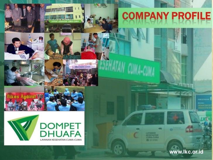 NEW COMPANY PROFILE LKC DOMPET DHUAFA