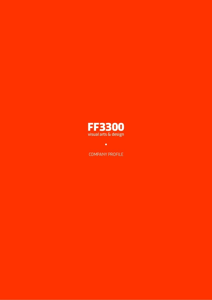 FF3300 Company Profile 2012