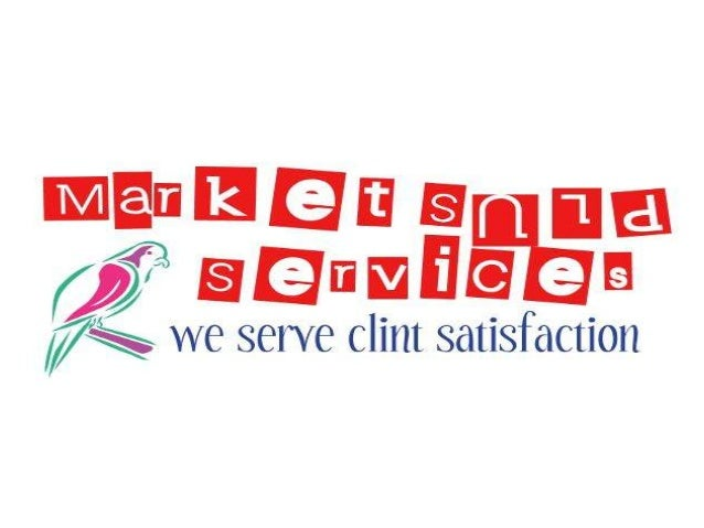 MARKET PLUS SERVICESWe are a young & dynamic event managementcompany engaged in offering the highest qualityand most event...