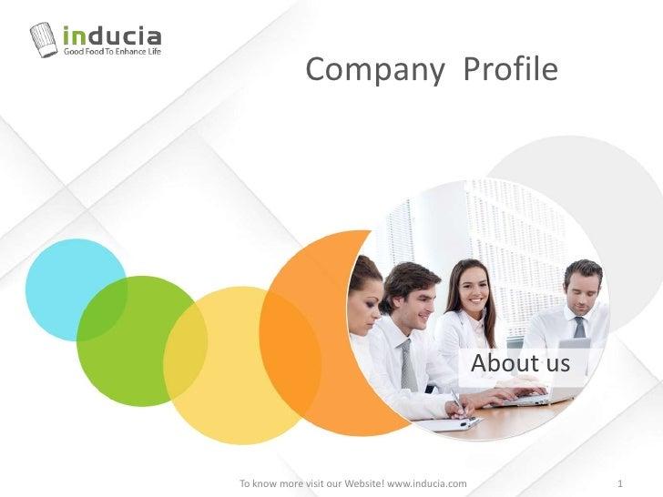 Inducia Company Profile