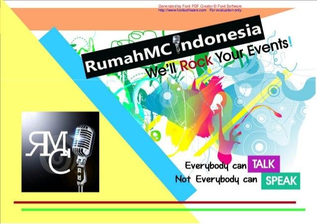 Company profile Rumah MC