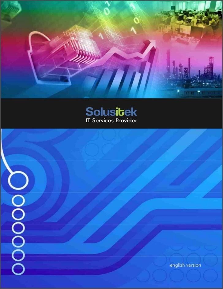 IT Services Provider                       PROFIL PERUSAHAAN                          english version