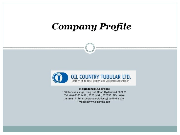 Company report: OCTL