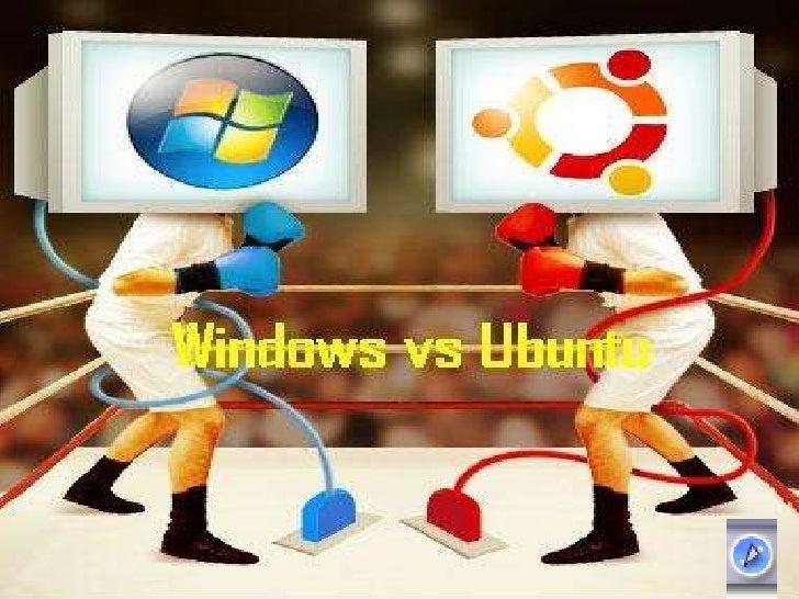 Comparación de Windows XP y Ubuntu 9.10