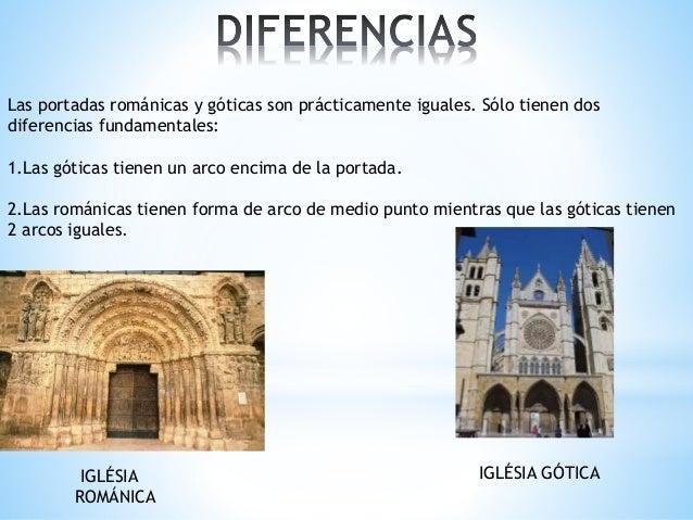 Comparaciones de la arquitectura rom nica y g tica for Arquitectura gotica partes