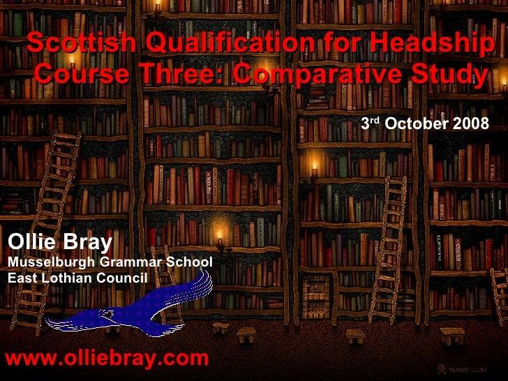 SQH Comparative Study - Slideshare