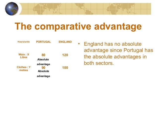 competitive advantage and comparative advantage