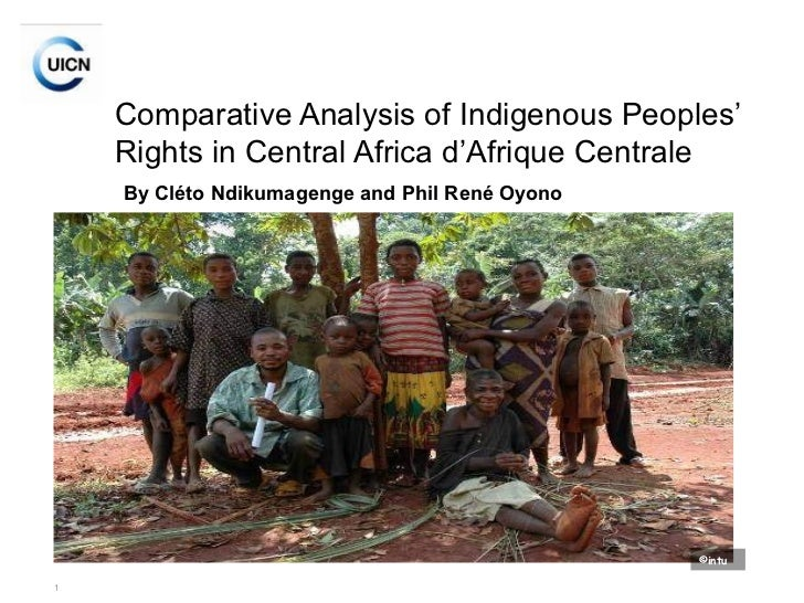 Comparative Analysis of Indigenous Peoples' Rights in Central Africa d'Afrique Centrale   By Cléto Ndikumagenge and Phil R...