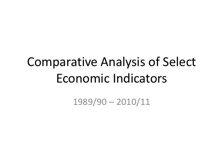 Comparative economicanalysis