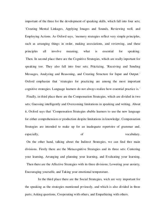 Essay On Memory Strategies  Strategies For Writing An Essay Exam Test Taking Strategies  Southwestern University