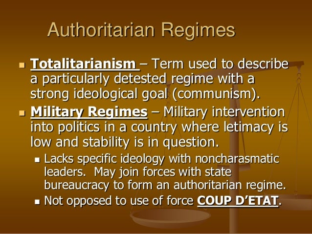Why is authoritarian government better?