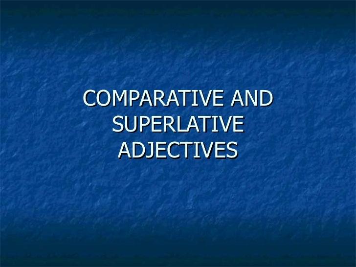 Comparatives  grammar explanation