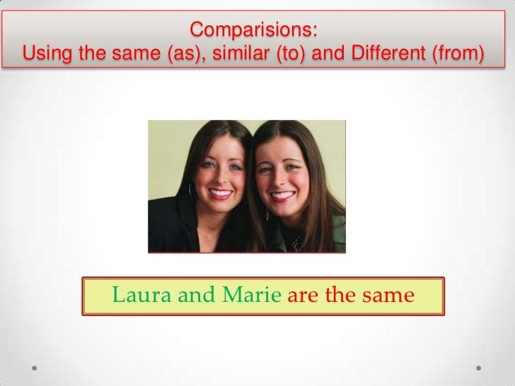 Comparatives &superlatives