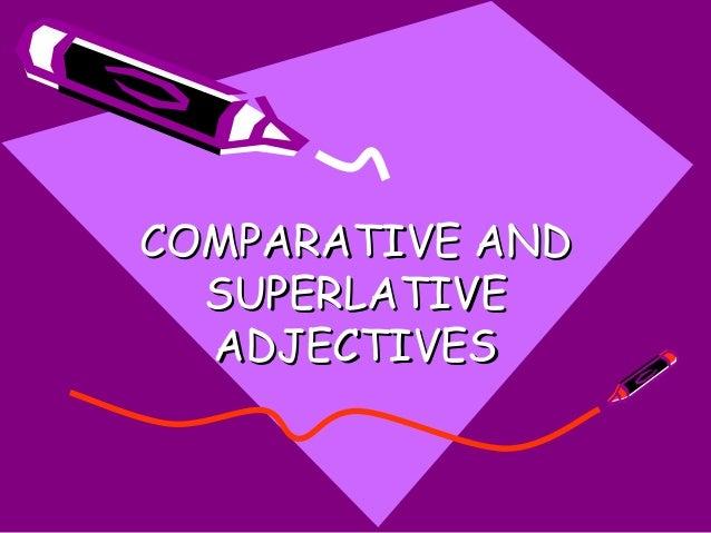 Comparative superlative