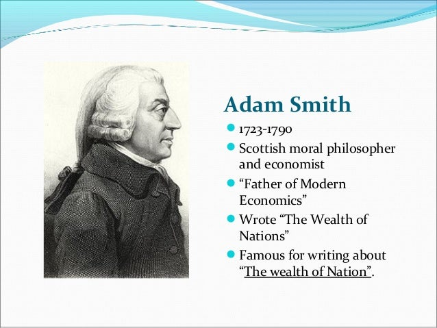 Western Civilization: The Wealth of Nations by Adam Smith Essay Sample