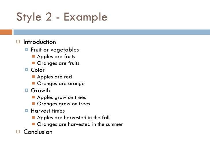 Comparing apples oranges essay