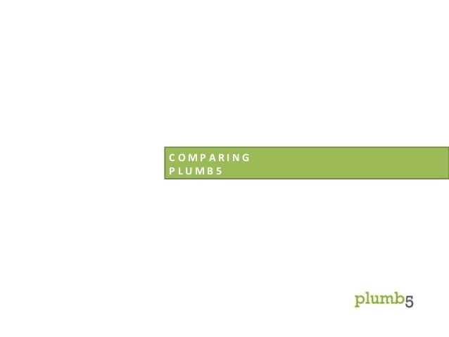 Comparing Plumb5 Marketing Platform