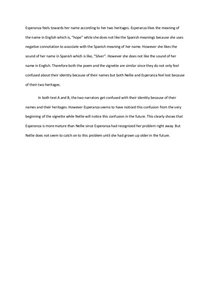 What is the meaning of compare and contrast essay
