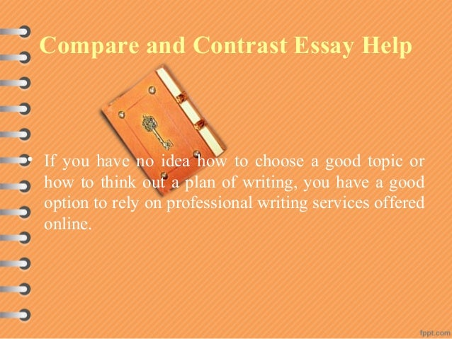I need help with compare/contrast essay topics?